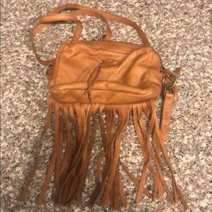 Lucky Brand Crossbody Fringe Bag